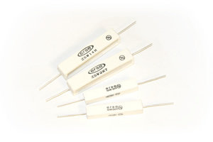Cement Wire Wound Resistors - Click to Enlarge